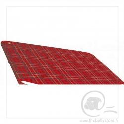 Toile de rechange pour lit pliant rouge