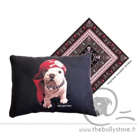 Coussin Teo Jasmin Pirate