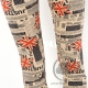 Legging blanc Union Jack