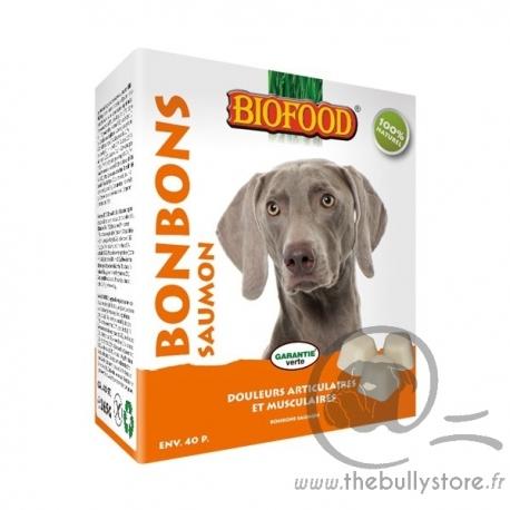 Bonbons Biofood au saumon