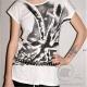 T-shirt Union Jack Blanc