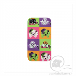 Coque iPhone 5/5S motif Bull Dogs