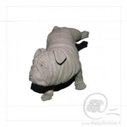 Statue Bulldog Pause pipi