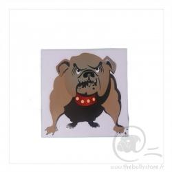 Sticker couleur Bulldog Anglais